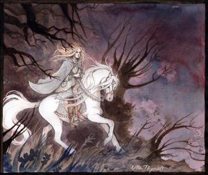 18 Ottobre 3018: Glorfindel incontra Frodo al crepuscolo