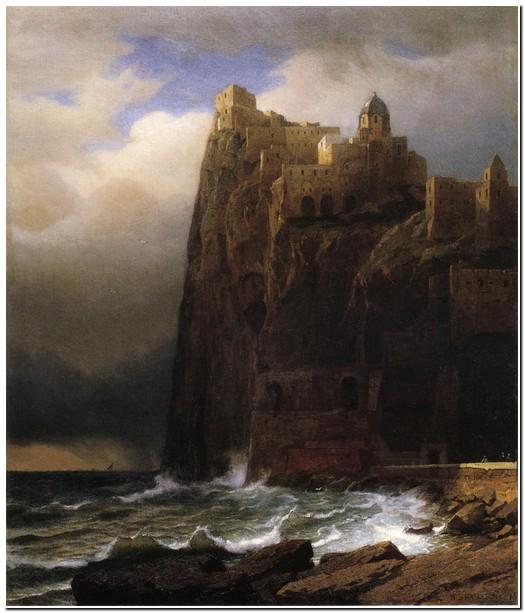 """""""Coastal Cliffs (Ischia)"""", data sconosciuta"""