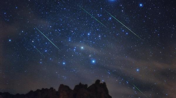 Le meteore Draconidi visibili giorno 8 e 9 Ottobre