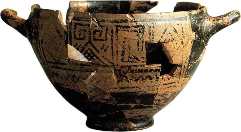 La Coppa di Nestore e la sua iscrizione